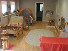 The Wonder Years: An In-Home Childcare Room