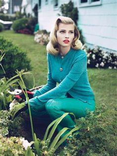 lara stone gardening housewife