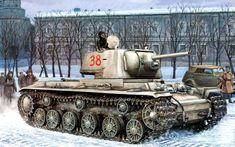 KV-1 Dec at Leningrad 1941