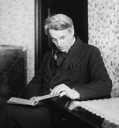 "William Butler Yeats reads.""Come Fairies, take me out of this dull world, for I would ride with you upon the wind and dance upon the mountains like a flame!"""