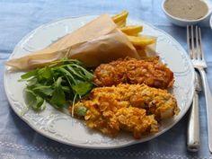 """Junk Food kann auch gesund sein. Wie das? Indem Sie es selber zubereiten. Dieses Rezept stammt von dem Food-Blog """"Kochen mit Diana"""". http://www.fuersie.de/kochen/foodblogger/artikel/rezept-crispy-stripes"""