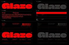 Identity Design, Brand Identity, Brand Guidlines, Glaze, Creative Director, Cannabis, Typography, Culture, Identity