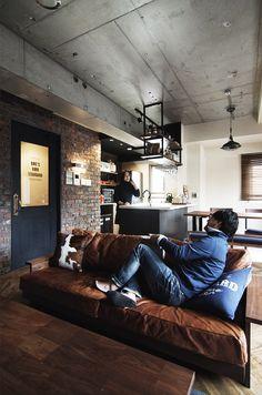 Loft, Room Interior, Interior And Exterior, Home Furniture, Furniture Design, Interior Decorating, Interior Design, Room Planning, Industrial House