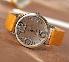 Womens Wristwatch 3D Watches for Groomsman Vintage Watches Retro Leather Wrist Watches