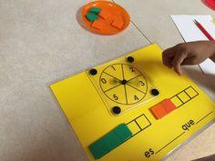 Comparing Sets, Math sentence Frames (Kinder-Young ES)
