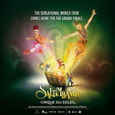 Creative director: Jo-Ann Munro Art Direction and executive: Xavier.K Writing: Marcus Hildebrandt Client: Cirque du Soleil Agency: Sid Lee