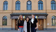 SAGA - SACC US to Sweden Trainees 2013, Rachel Agnew, Marie Vasallo and Erica Restrich - Welcome :-)