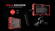 Huge Price Drops on Atomos Ninja Assassin 4K Recorder