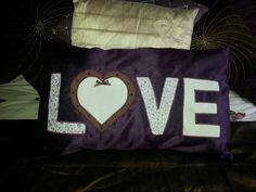 Love cushion.