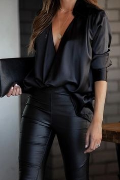 Business Casual Outfits For Women, Office Outfits Women, Mode Outfits, Classy Outfits, Chic Outfits, Fashion Outfits, Fasion, Black Mode, Black Friday Shirts