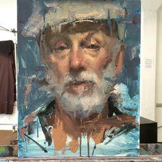 Today's portrait sketch. Jacob Dhein San Francisco artist. www.jacobdhein.com