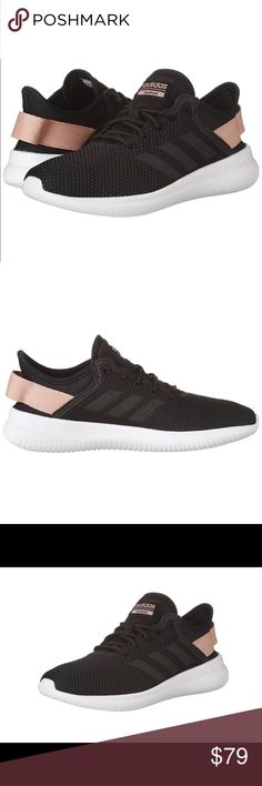 🌟New Authentic Adidas women's shoes 🌟 textile and synthetic Imported Rubber sole Shaft measures approximately low-top from arch Simple and modern Foot-hugging cloudfoam adidas Shoes Sneakers