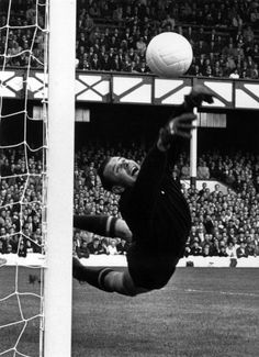 Lev Yashin of the Soviet Union