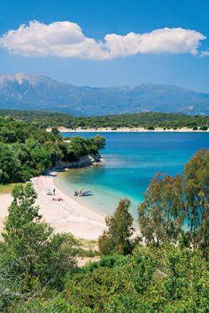 Nadire Atas on Beautiful Beaches To Visit Meganissi island ~ Greece Places To Travel, Places To Visit, Myconos, Beau Site, Greek Isles, Greece Islands, Corfu, Island Beach, Greece Travel