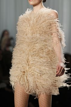 Feather Dress-Fall 2011