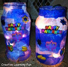 Kids Winter Holiday Hop: Hanukkah Lights - Creative Learning Fun