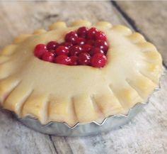 Sweet Heart Cut-Out Cherry Pie Magnet, Polymer Clay, Bottle Cap ...