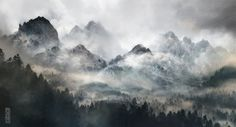 Misty Mountains by TavenerScholar on DeviantArt