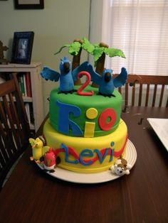 Rio Movie Themed Birthday Party Dessert Table Boy Ideas M5jpg
