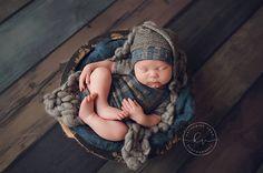 Newborn boy short sleeve romper Carter  by adorableprops on Etsy