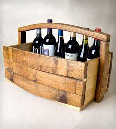 Napa Barrel Stave Magazine/Wine Basket | Home Kitchen & Pantry | Alpine Wine Design | Scoutmob Shoppe | Product Detail