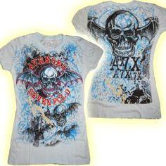 Official Skinny TShirt Avenged Sevenfold Death Bat M 10
