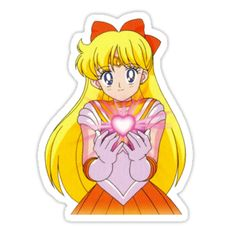 """""""Sailor Moon Heart"""" Stickers by KokoroPopShop Sailor Moon Cakes, Arte Sailor Moon, Sailor Moon Manga, Sailor Mars, Sailor Moon Quotes, Sailor Moon Funny, Sailor Moon Costume, Sailor Moon Cosplay, Anime Stickers"""