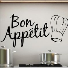 Stickers and cuisine on pinterest - Stickers pour meuble de cuisine ...