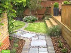 Jardines peque os en pinterest paisajismo en una casa - Paisajismo jardines pequenos ...