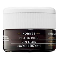 Korres - Black Pine Firming, Lifting & Antiwrinkle Night Cream #sephora