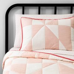 Queen Sheet Set Diamond Dot Pink - Hearth & Hand with Magnolia