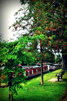 Stratford-Upon-Avon --- the canal boats captured me all those years ago.