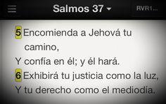 No demuestres el bien que haces, Dios lo hará por ti #Promesa Salmo 37:5-6