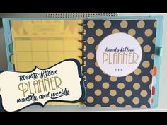 2015 Monthly and Weekly Printable Planner Link to purchase! https://www.etsy.com/listing/216905335/2015-planner-calendar-size-large-85-x-11?ref=shop_home_act...