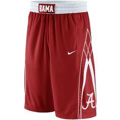 Nike Alabama Crimson Tide Replica Basketball Shorts - Crimson - $44.99