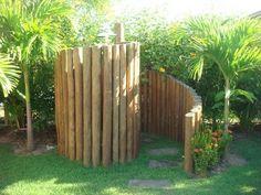 Outdoor Bathrooms 381469030937047925 - Foto Apartamento, Source by Outdoor Bathtub, Outdoor Bathrooms, Beach Bathrooms, Pool Shower, Garden Shower, Design Jardin, Garden Design, Outdoor Spaces, Outdoor Living