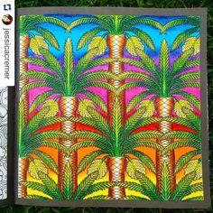 Instagram media desenhoscolorir - Olha minha pintura de hoje! Siga-me @jessicacremer Livro Um Jardim de Cores. Usei só Lápis de cor Maped. umjardimcores glorious gardens desenhoscolorir