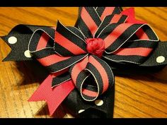 Classic Boutique hairbow tutorial: http://www.youtube.com/watch?v=GyMRR5jDYSc    Pinwheel tutorial : http://www.youtube.com/watch?v=iO6A9kfv9kM    How to secure your bows to a barrette: http://www.youtube.com/watch?v=gOR_xxQ2q1w    Where I get my ribbon: http://www.mynameismomma.com/2011/08/where-do-you-get-your-ribbon.html    ****    Find me here too :    ...