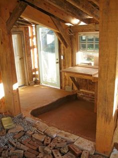 Lots of good info on building a cob. Lots of photos. this is super cool love the up north and how it looks so old and rustic~~ Cob Building, Building Design, Building A House, Building Ideas, Green Building, Cob House Interior, Earth Bag Homes, Earthship Home, Mud House