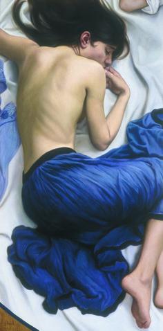 António Macedo_Debaixo do Mar_1992_Oil on canvas_50 x 24,4 inches