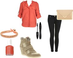 """""""The orange one"""" by nana39-1 on Polyvore"""