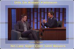 Gifs De Robert Pattinson No Programa Late Night Com Seth Meyers Como já foi publicado anteriormente, a participação de Robert Pattinson no programa Late Night com Seth Meyers, onde esteve divulgando The Rover, no dia 17 de junho de 2014, terça-feira, em Nova York. O filme teve sua estréia nos Estados Unidos no dia 20 de junho. Confiram agora vários gifs de Robert durante a entrevista abaixo: