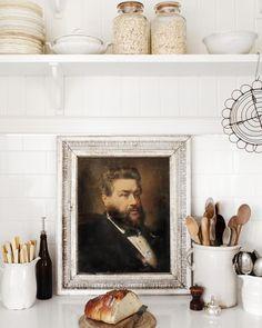 Detail from Kara Rosenlunds kitchen! Love, love!