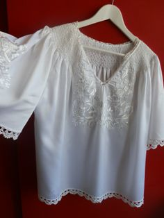 Blouse embroidery Hungarian Kalocsamade of silk. by macaristanbul, $160.00