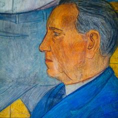 Portrait of Guilt, for more, please visit: http://www.painting-in-oil.com/artworks-Rivera-Diego.html