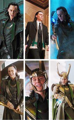 Don't tell me Loki isn't the most gorgeous villian you've ever seen