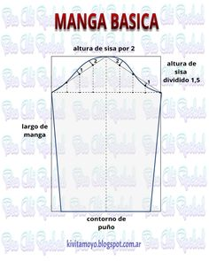 Blog de patronaje y diseño Corset Sewing Pattern, Pattern Drafting, Dress Sewing Patterns, Sewing Clothes, Diy Clothes, Sewing Hacks, Sewing Projects, Cross Stitch Sea, Yarn Crafts For Kids