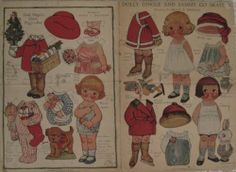 1927-Double-Page-Dolly-Dingle-Paper-Dolls-J-Eggers-Company-NYC