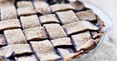 Blueberry Vegan Summer Pie - Becoming Vegan