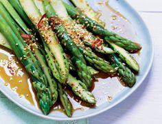 East-West Marinated Asparagus   Vegetarian Times